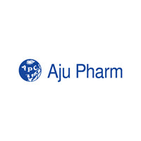 Logo de la empresa farmacéutica Aju Pharm